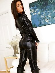 Mature leather, Pvc, Mature latex, Latex, Mature pvc, Leather milf