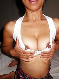 Asian wife, Asian nipples, Big nipples, Asian, Nipples, Asian amateur