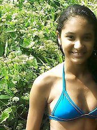 Teen beach, Virgin, Teen bikini, Colombian, Latin, Beach teen