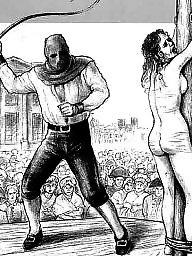 Bdsm cartoons, Cartoon, Punishment, Public, Punish, Bdsm cartoon