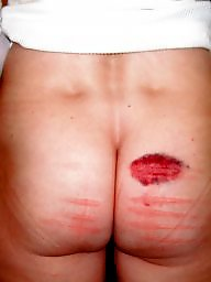 Caned, Wife bdsm, Caning