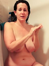 Housewife, Mature housewife, Shower, Mature shower
