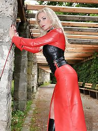 Leather, Red