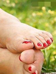 Feet, Mature feet, Feet mature