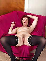 Mature hairy, Shaved mature