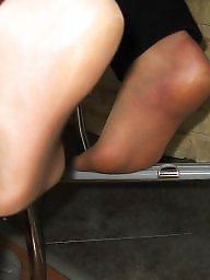 Amateur nylon, Nylon feet, Feet, Foot