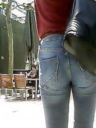 Hidden cam, Jeans, Jeans ass