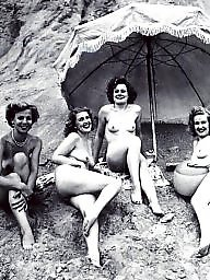 Vintage, Vintage amateur, Naked, Naked group