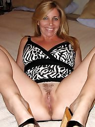 Mature blonde, Naughty
