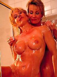 Milf lesbian, Naked
