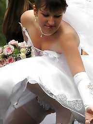 White panties, Wedding, Brides, White bra, Panties, Bride