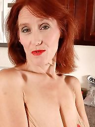 Mature redhead, Mature old, Lady, Lady b