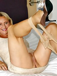 Michelle, Mature stockings