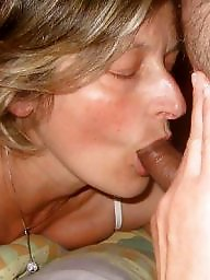 Milf blowjob, Sucking, Dicks