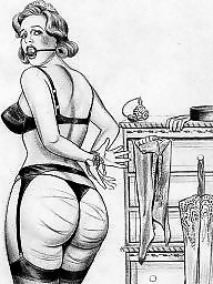 Bdsm cartoon, Cartoons, Retro, Cartoon bdsm