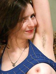 Armpits, Hairy armpits