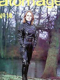 Pvc, Mature leather, Leather milf, Mature latex, Latex amateur, Mature pvc
