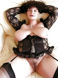 Mature big boobs, Mature stocking, Mature stockings