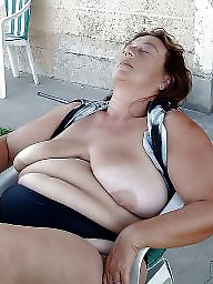 Mature nipples, Big nipples, Mature big boobs, Big mature
