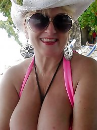 Granny, Granny big boobs, Granny boobs, Clothed unclothed, Clothed, Mature boobs