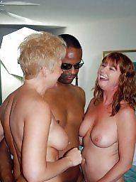 Black mature, Interracial mature