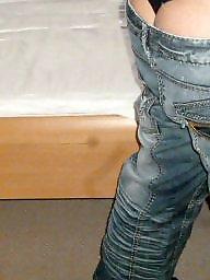 Thong, Jeans, Jeans ass, Thongs, Thong ass