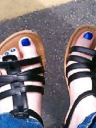 Bbw feet, Bbw redhead, Feet, Big feet