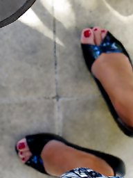 Shoes, Feet, Shoe, Milf feet, Michelle
