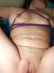 Mature bdsm, Silk, Rope