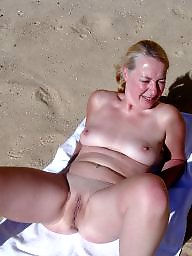 Beach mature, Mature beach, Beach, Wife beach, Amateur mature, Public