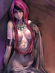 X cartoon, Morrigan, G collection, F collection, E collection, D collection