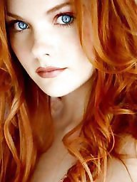 Red hair, Eyes