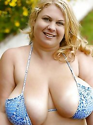 Bbw, Swimsuit, Chubby, Big, Big boobs, Amateur bbw