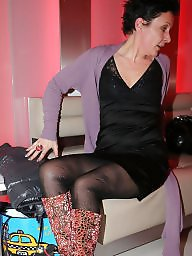 Boots, Mature boots, Mature stocking, Amateur mature, Mature stockings