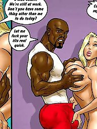 Interracial cartoon