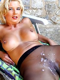 Mature, Mature amateur, Blond mature, Grannies, Blonde granny, Blonde