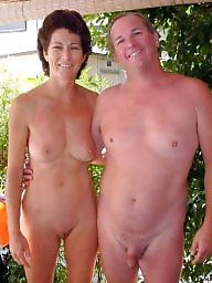 Public milf, Naked couples, Couple, Naked
