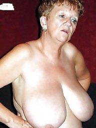 Granny tits, Saggy tits