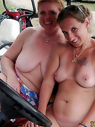 Nudists, Nudist, Fun, Brunette amateur, Resort