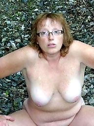 Pale, Public nudity, Wife, Public, Nudity, Mature amateur