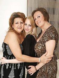 2 fille, 1 fille, Mères & filles