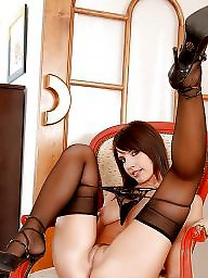 Nylon mature, Wide open, Wide, Mature nylons, Mature stockings