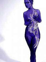 Body paint, Paint, Body painting, Voyeur, Body
