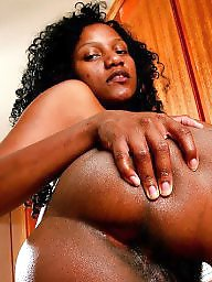 Hairy ebony, Ebony hairy, Jerking, Housewife, Jerk off