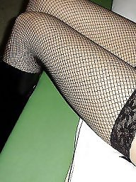 Nylons, Nylon, Fishnet, Asian