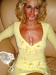 Facial, Amateur mature, Mature facial, Facials