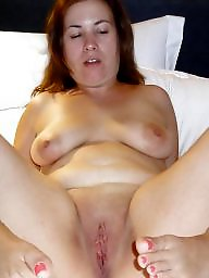 Spreading, Chubby, Bbw, Spread, Mature bbw