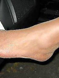 Leggings, Leg, Nylon feet, Asian wife, Feet, Asian anal