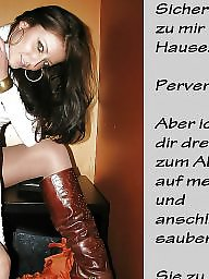 German caption, Femdom caption, Caption, Femdom, Captions, German captions