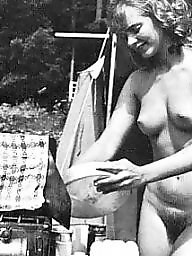 Vintage, Hairy, Nudist